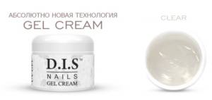 Гель Крем D.I.S Nails GEL CREAM  CLEAR 30г