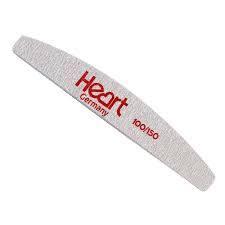 Пилка для ногтей HEART Half 100/150