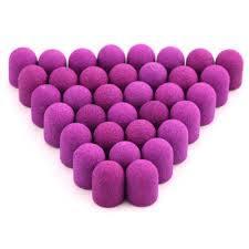 Колпачёк наждачный педикюрный розовый 13*19mm