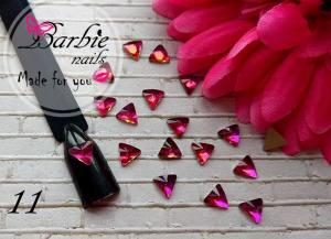 Стразы фигурные стекло BarbieNails 1шт №11