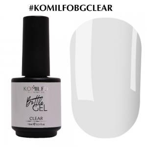 Komilfo Bottle Gel Clear, 15мл, с кисточкой