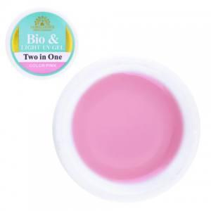 БИО гель Global Fashion 15г color pink розовый