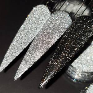 Светоотражающий блеск Nailapex серебро  №1