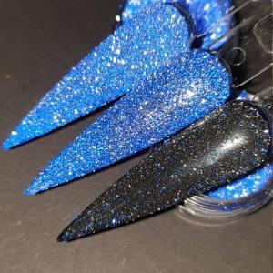 Светоотражающий блеск Nailapex синий  №5