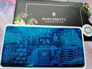 Пластина для стемпинга Born Pretty BP-А04