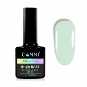 Цветное базовое покрытие CANNI №651 нежный мятный, 7,3 ml