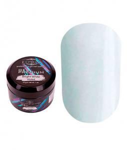 Белый гель для наращивания Komilfo Gel Premium Bright White Violet 30 г