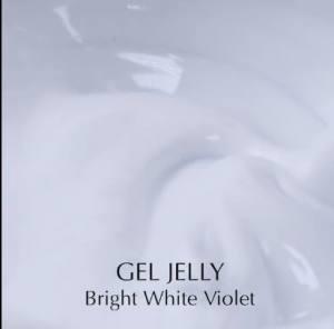 Гель для нарощування Komilfo Gel Jelly Bright White Violet
