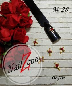 Брошь для ногтей Nail Zone №28 (1шт)