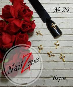 Брошь для ногтей Nail Zone №29 (1шт)