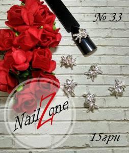 Брошь для ногтей Nail Zone №33 (1шт)