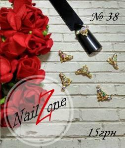 Брошь для ногтей Nail Zone №38 (1шт)