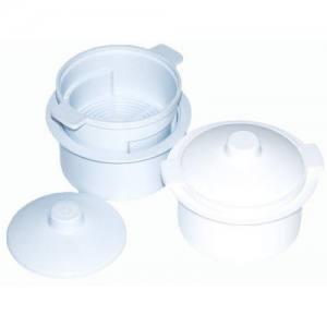 Контейнер для дезинфекции фрез (пластиковый, круглый) 0,1 л