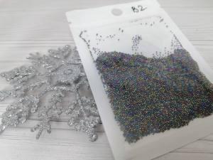 Бульонки стекло микс B02 (4 грамма)