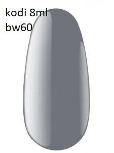 Гель лак Kodi Basic Collection 8 мл BW60 серый