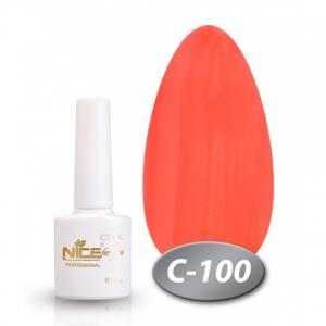 Гель-лак Nice 8.5мл серия cool C100 яркий оранжевый