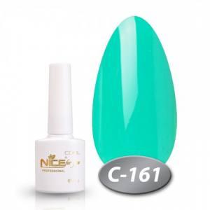 Гель-лак Nice 8.5мл серия cool C161 темная бирюза