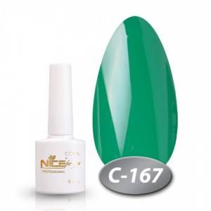 Гель-лак Nice 8.5мл серия cool C167 зеленый