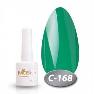 Гель-лак Nice 8.5мл серия cool C168 изумрудный