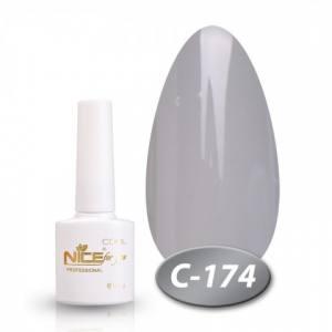 Гель-лак Nice серия cool 8.5мл C174 серый