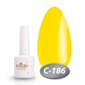 Гель-лак Nice 8.5мл серия cool C186 желтый