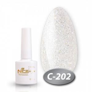 Гель-лак Nice серия cool 8.5мл C202 перламутровый