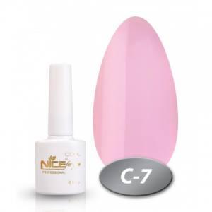 Гель-лак Nice for you Cool 8,5 ml С07 розово-сиреневый, эмаль