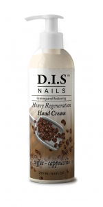 Увлажняющий крем для рук с ароматом кофе DIS nails 250мл