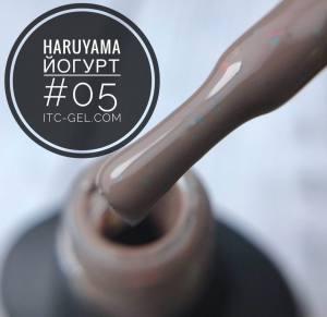 Гель-лак Haruyama Йогурт 05