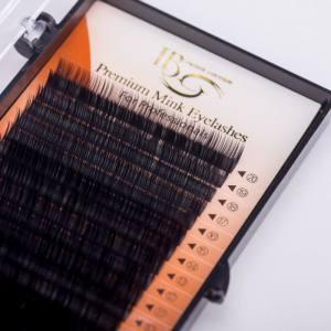 Ресницы I-Beauty D-0.1 микс 10-12-14мм
