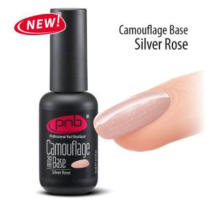 Камуфлирующая база PNB серебристо-розовая PNB Silver Rose 8мл