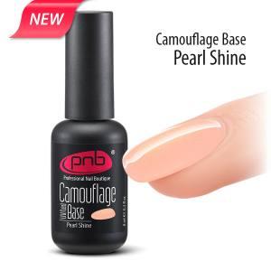 Камуфлирующая база PNB, перламутровая UV/LED Camouflage Base PNB, Pearl shine 8мл