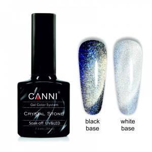 Гель-лак CANNI Crystal Stone 903 серебро/синий 7,3 ml