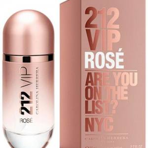Женская парфюмированная вода Carolina Herrera 212 Vip Rose 80ml