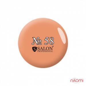 Акриловая краска № 58 Salon Professinal 3 мл, цвет светло-персиковый