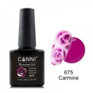 Акварельный гель-лак кармин CANNI №675