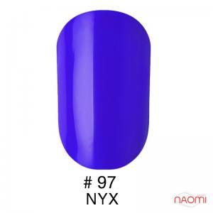 Гель-лак Naomi Gel Polish 97 - Nyx, 6 мл синий