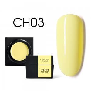 Цветной мусс-гель Canni 5г CH03 желтый