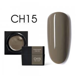 Мусс-гель цветной CANNI CH15 коричневый опал 5г