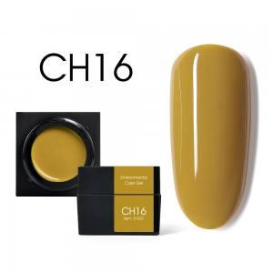 Мусс-гель цветной CANNI CH16 горчичный 5г
