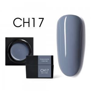 Мусс-гель цветной CANNI CH17 фиолетово-дымчатый 5г