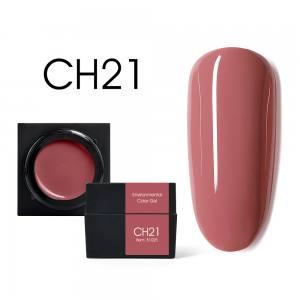 Мусс-гель цветной CANNI CH21 бежево-коралловый 5г