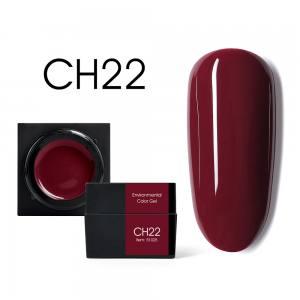 Мусс-гель цветной CANNI CH22 красно-коричневый 5г
