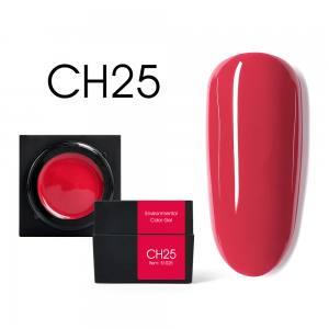 Мусс-гель цветной CANNI CH25 малиново-красный 5г