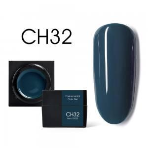 Мусс-гель цветной CANNI CH32 темный серо-голубой 5г