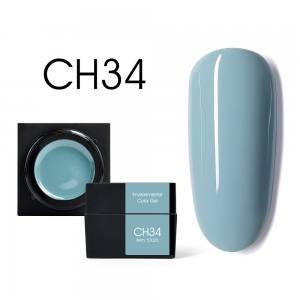 Мусс-гель цветной CANNI CH34 серо-голубой 5г