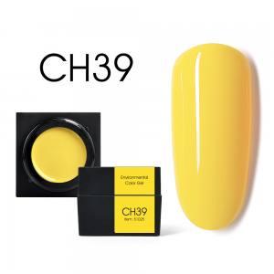 Мусс-гель цветной CANNI CH39 ярко-желтый 5г