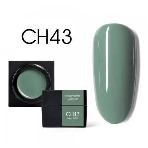 Мусс-гель цветной CANNI CH43 сизый оливковый 5г
