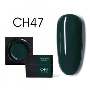 Мусс-гель цветной CANNI CH47 темно-зеленый 5г