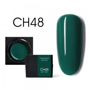 Мусс-гель цветной CANNI CH48 изумрудный 5г